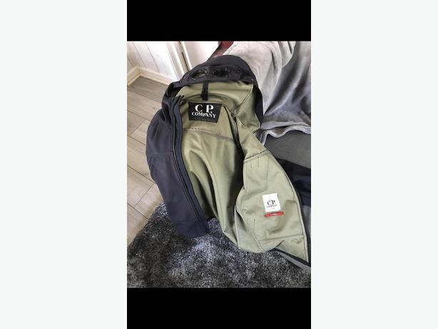 CP Company Goggle Jacket (Dark Blue)