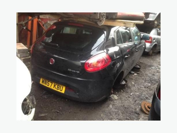 fiat bravo active 2008 1.4 petrol black 5dr Breaking