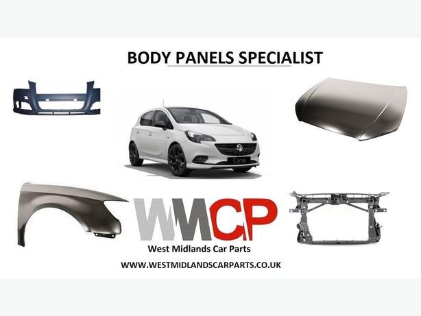vauxhall corsa CAR PARTS body panels specialist