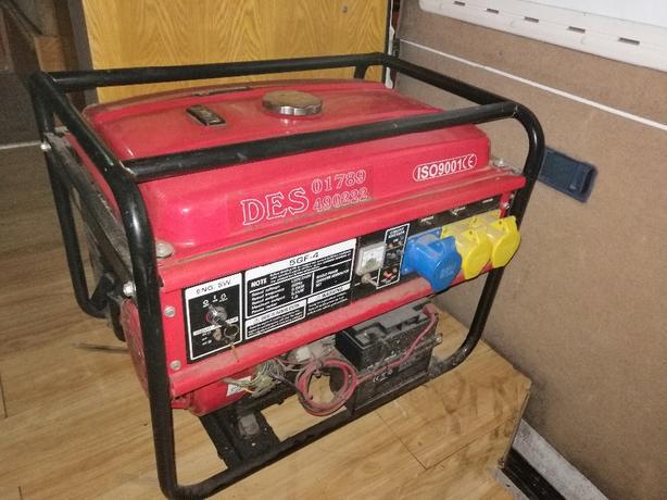 electric start petrol generator - 240/110v - Delivery -