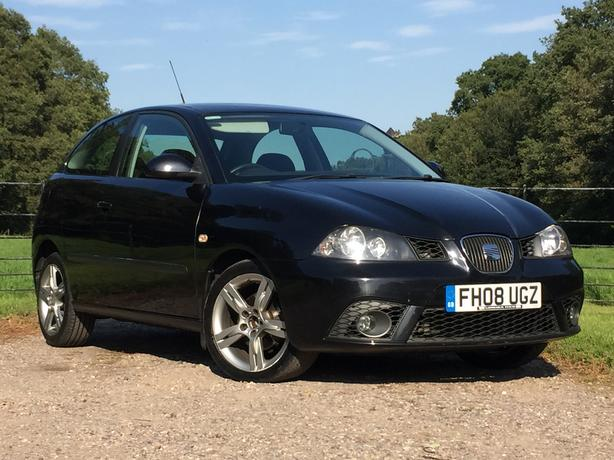 Seat Ibiza 1.4 Sportrider Coupe. black