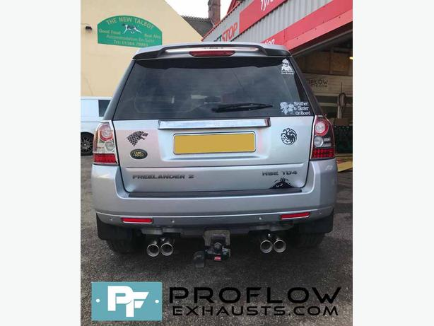 Proflow Custom built Dual Exit Exhaust for Freelander 2