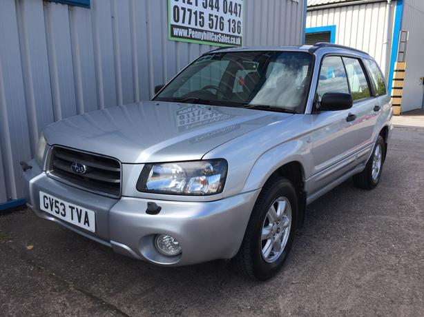 2003 Subaru Forester 2.0 X Automatic **12 MONTHS MOT**