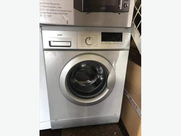 LOGIK 7 KG SILVER WASHING MACHINE WITH GUARANTEE 🇬🇧🇬🇧🇬🇧