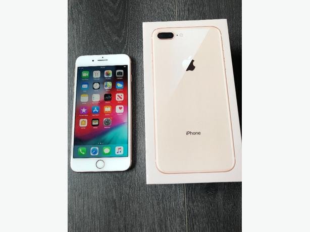 iphone 8 plus 64GB unlocked to all networks rose gold boxed