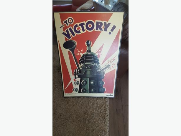 framed doctor who picture    Dalek