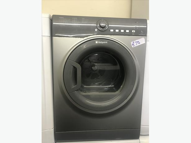 HOTPOINT 7KG VENTED DRYER GRAPHITE