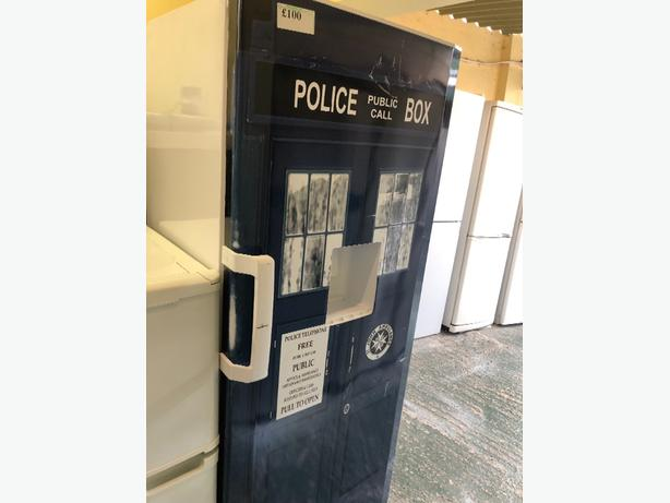 police box larder fridge