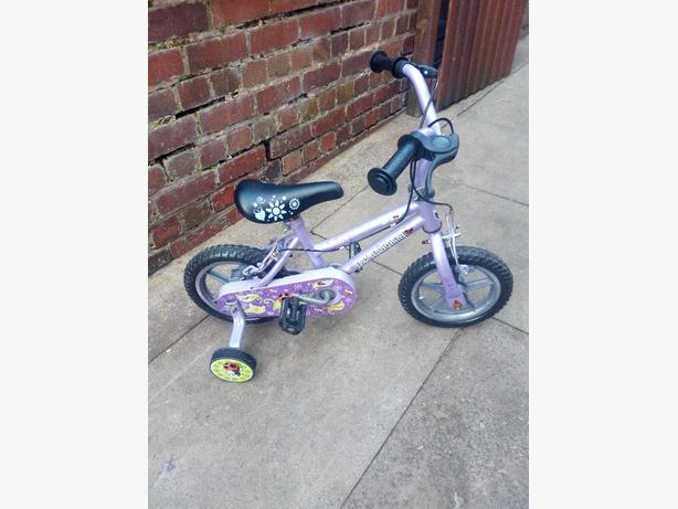 10 inch girls bike