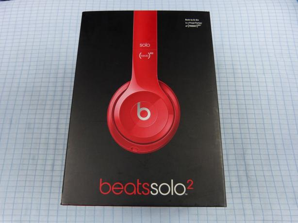 Monster Beats by Dr. Dre Solo 2 on-ear headphones