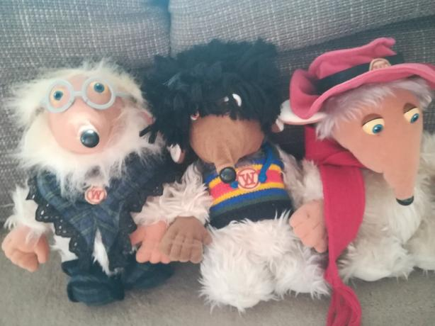 Collectable womble plush