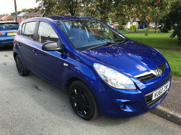 i20 CLASSIC 1.2 60reg 2010 ONE OWNER FROM NEW 57k FULL SERVICE HISTORY
