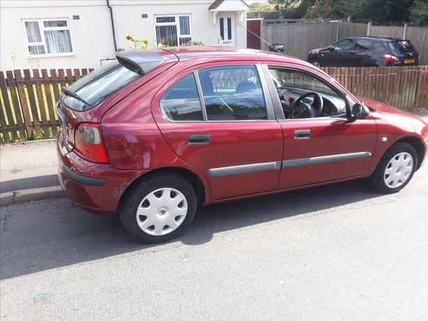 Cheap runabout 02plate 1.4 16v moted Feb 2020 low mileage