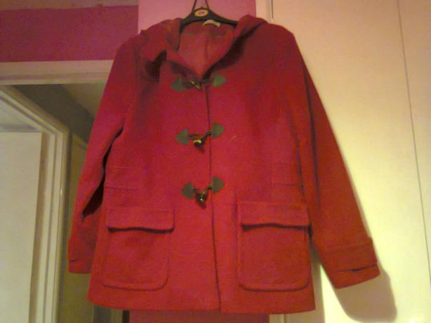 Red Coat Size 20