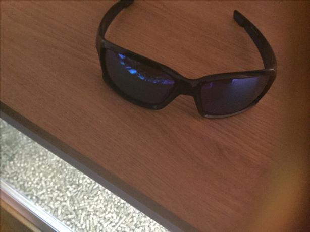 Oakley blue sunglasses