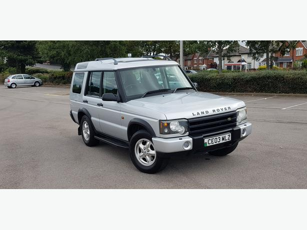 LAND ROVER DISCOVERY 2.5 DIESEL 2003(120 K MILES