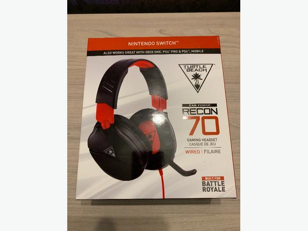 Turtle Beach Recon 70N Gaming Headset for Nintendo Switch, Xbox one, PS4, switch
