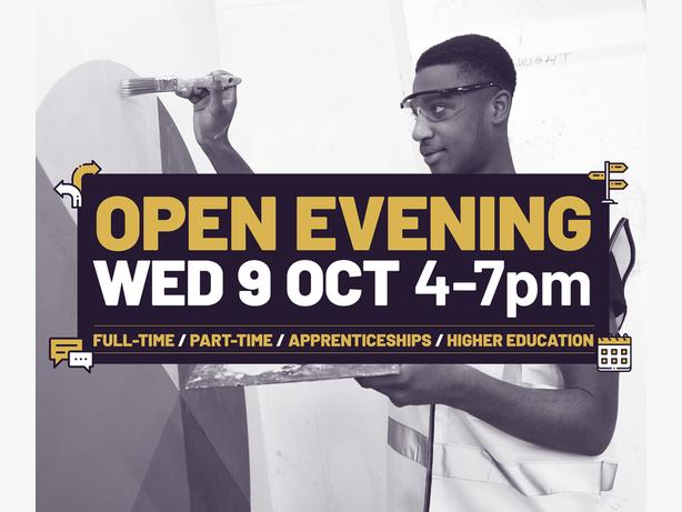 Open Event - Wed 9 Oct 4-7pm