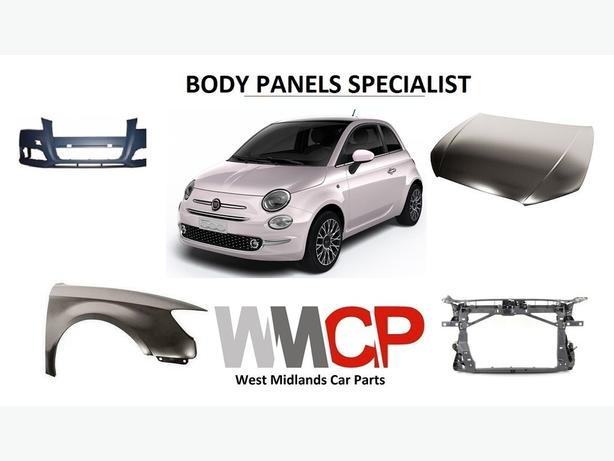 fiat 500 car parts body panels specialist