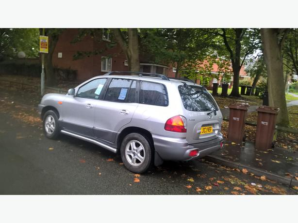 Hyundai Santa Fe 2.4 GSI 5dr.Ideal for towing.