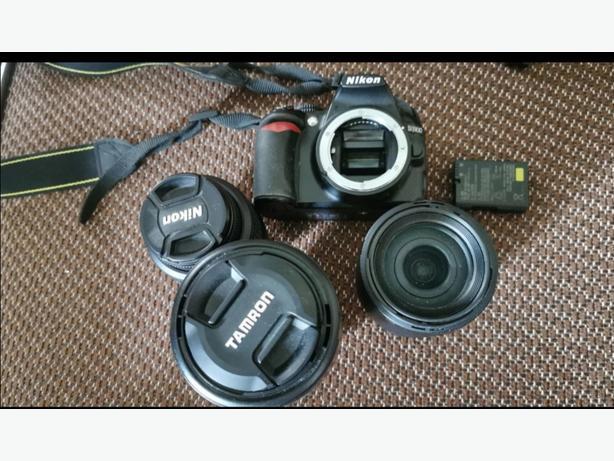 DSLR Camera and Lenses