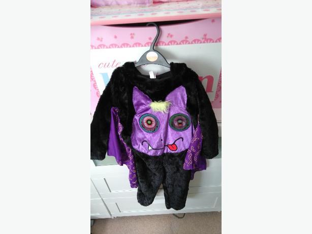 unisex 3-4 yrs bat holoween costume