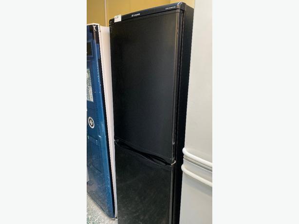 black hotpoint iced diamond fridge freezer at RECYK APPLIANCES