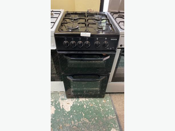black 50cm beko gas cooker at RECYK APPLIANCES