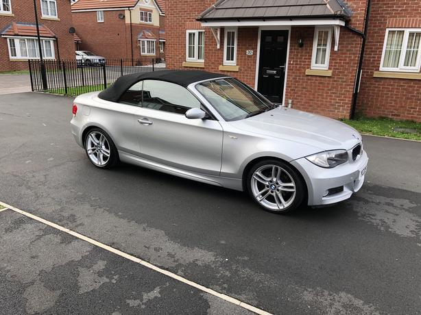 2009 BMW 120d M-Sport Diesel Convertible HPI Clear FSH Good Spec Heated Seats
