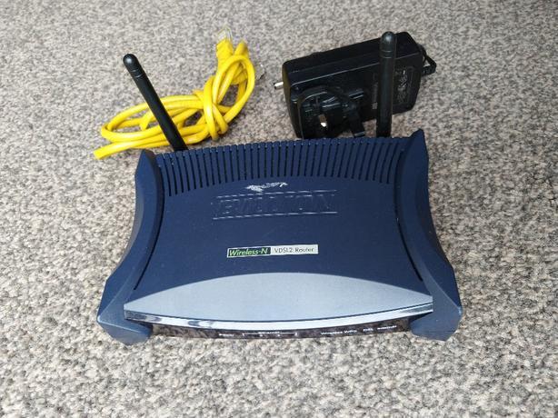 billion wireless-n vdsl2 router