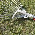 FREE: Adjustable lawn rake