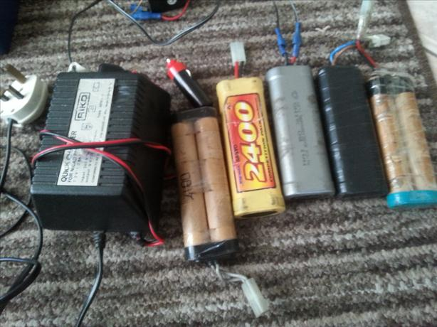 r c parts /chargers