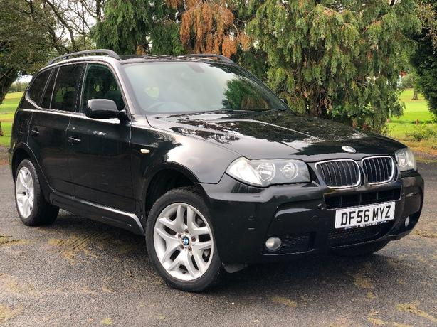 BMW X3 4x4 2006/2007 M SPORT FULLY LOADED PAN ROOF LOW MILES