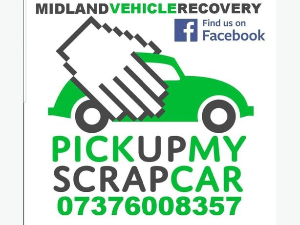 WANTED: CASH FOR SCRAP CARS IMMEDIATE PAYMENT