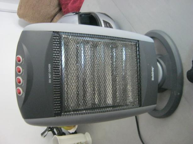 Beldray 1.2kW Grey Halogen Heater.