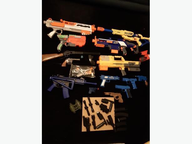 GUNS AND SIGHTS