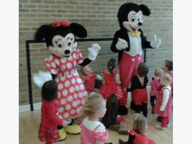 MICKEY MINNIE MOUSE MASCOT FANCY DRESS UP COSTUME CHILDRENS PARTY ENTERTAINMENT