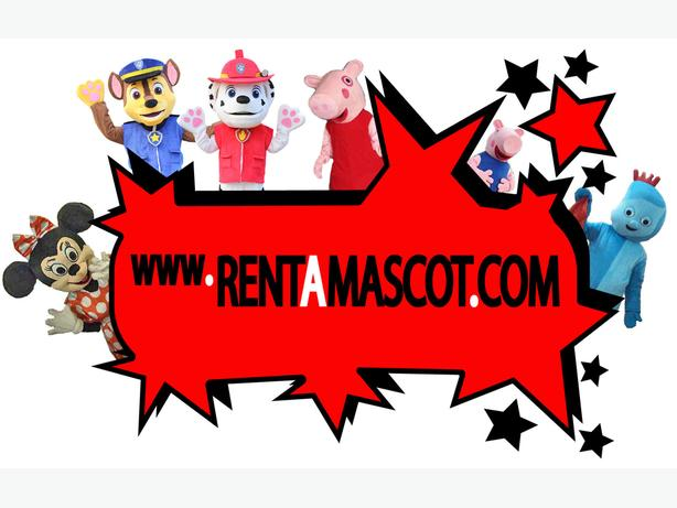 MASCOT COSTUME HIRE CHILDRENS BIRTHDAY PARTY CHARACTER ENTERTAINMENT