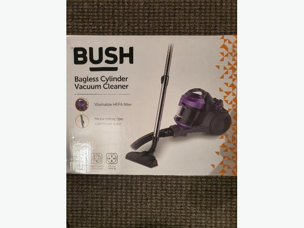 brand new bush bagless cylinder vacuum cleaner