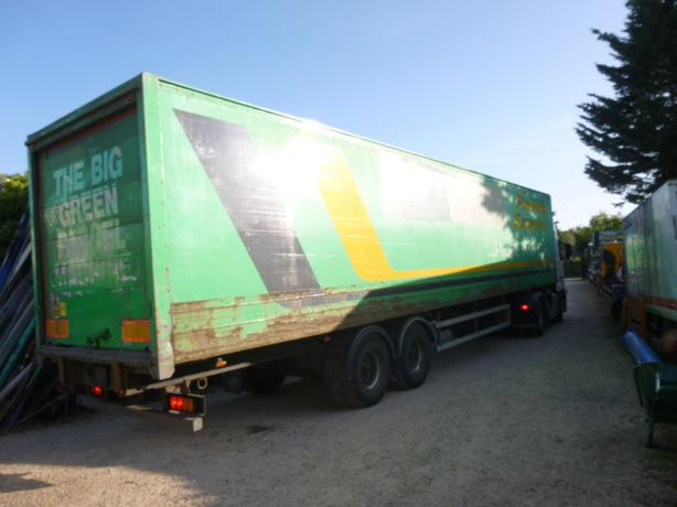 40-45ft Dry Freight Box Vans