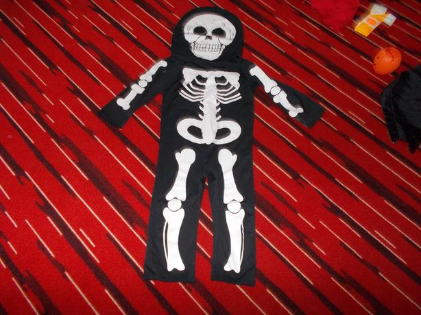 Child's skeleton costume