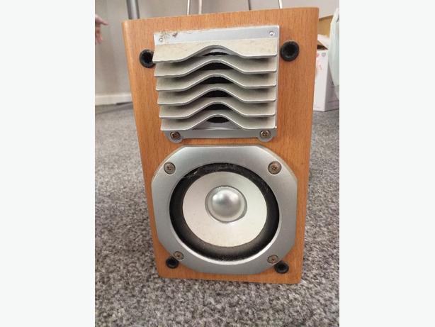 Panasonic shelf speakers.