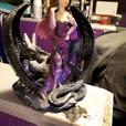 Xaena Dragon Tamer ornament