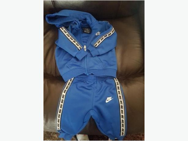 Baby aboys Nike Taped Tracksuit Worn Twice!!