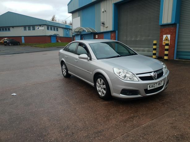 Automatic Vectra 1.9 Cdti Diesel, 2007, long mot, low mileage, drives excellent
