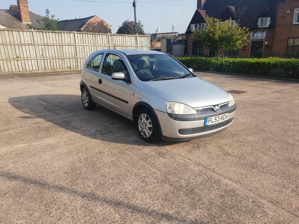 Vauxhall Corsa 1.0, 53 reg, only 83000 on clock, long mot, good drive