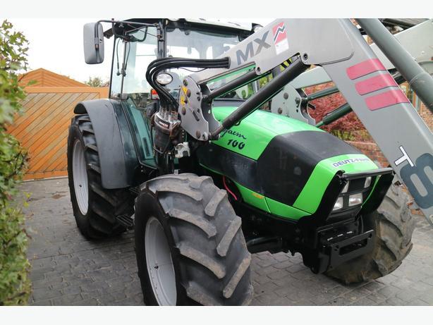 2009 Deutz Agrofarm 100 Tractor