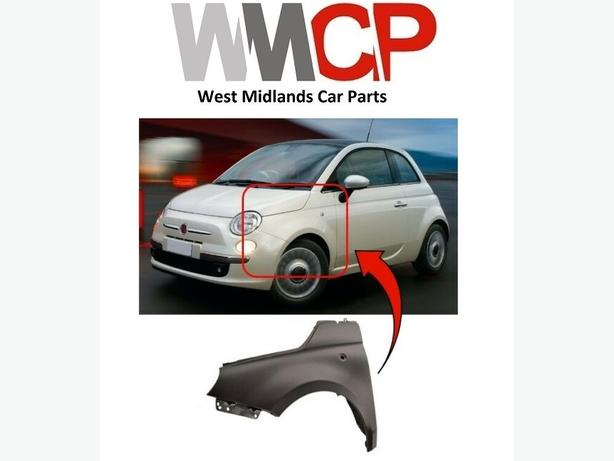 FIAT 500 2008-2015 FRONT WING - PRIMED