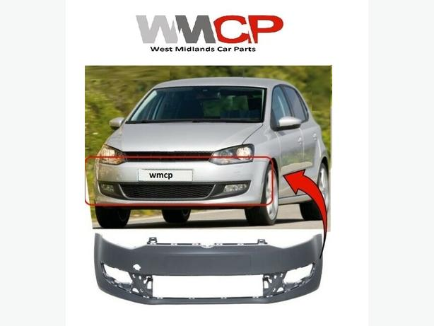 VW POLO MK8 2009-2014 FRONT BUMPER PRIMED