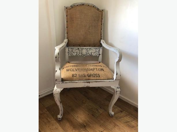 Deconstruction chair.